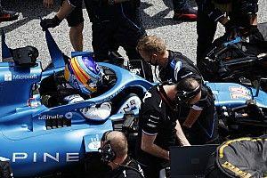 Alonso, frustado y molesto con la injusticia de la curva 1 en Austria