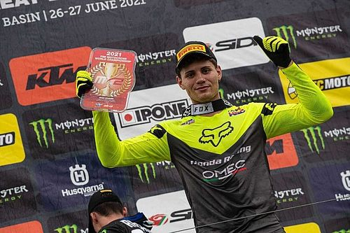 Prado, top 5 en el MXGP de Gran Bretaña; Fernández, nuevo líder de MX2