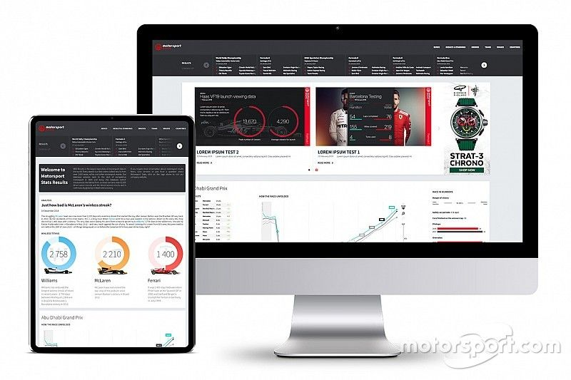 Motorsport Stats lanza la base de datos de resultados gratuita más grande del mundo
