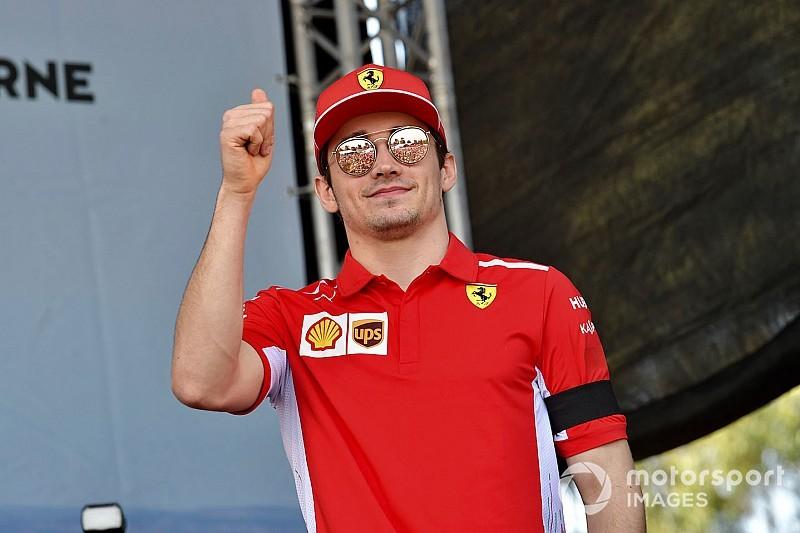 """Leclerc carico per il Bahrain: """"Conosco bene la pista e voglio un bel risultato con la Ferrari"""""""