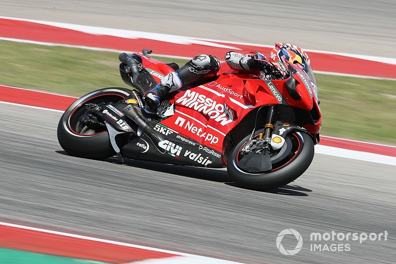 "Ducatis facing Q1 as Dovizioso laments tyre ""mistake"""