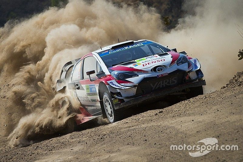 Mexico WRC: Meeke thwarted by puncture after taking lead