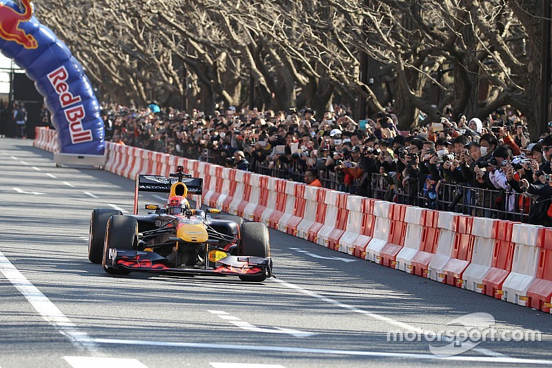 Bildergalerie: Formel-1-Showrun in Tokio