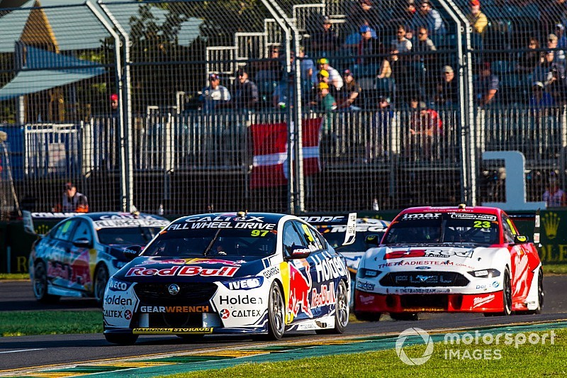 "Triple Eight made ""step forward"" at Albert Park"