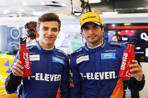 McLaren verlengt sponsordeal met Coca-Cola in 2019