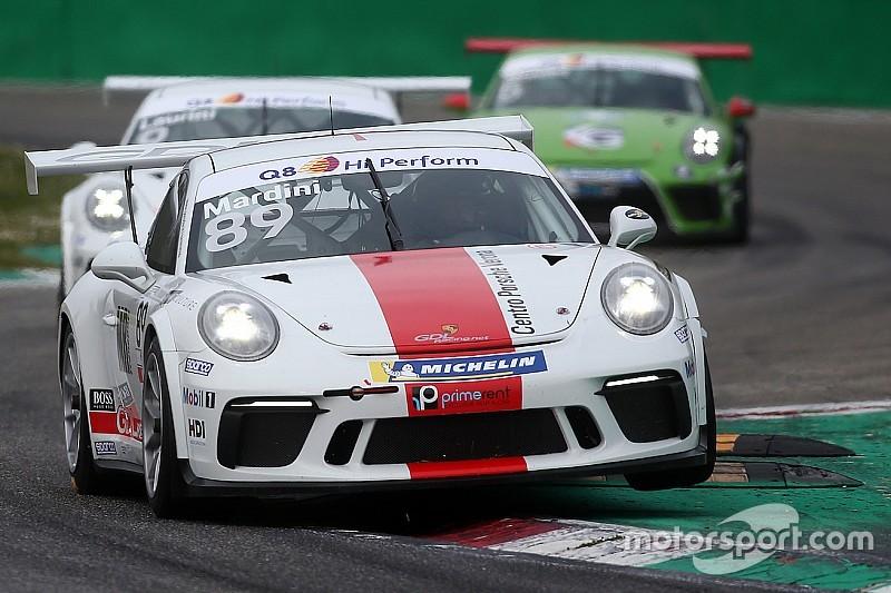 Carrera Cup Italia, Mardini da leader di Michelin Cup a Misano
