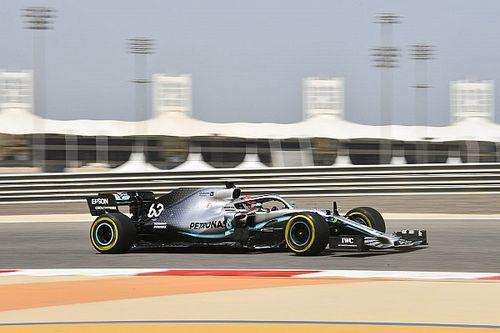 Russell futotta a bahreini 2. tesztnap leggyorsabb körét, Mick Schumacher hatodik az Alfával