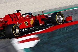 Феттель остался недосягаем для соперников в первый день тестов Ф1