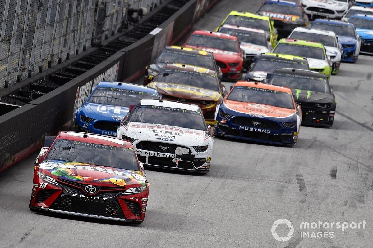 NASCAR releases more of its revised schedule