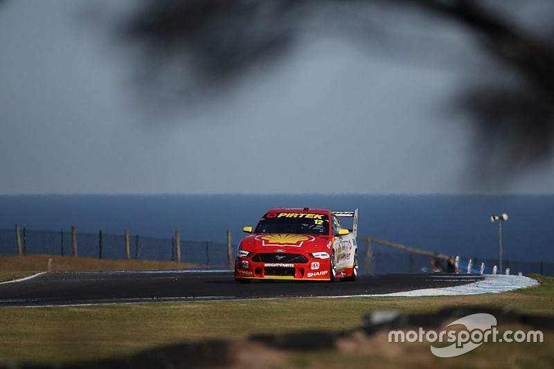 Phillip Island Supercars: Coulthard fastest, Whincup misses Q2