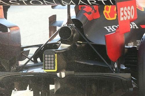 Tecnica Red Bull: sulla RB15 sono riapparsi i due tiranti nel retrotreno