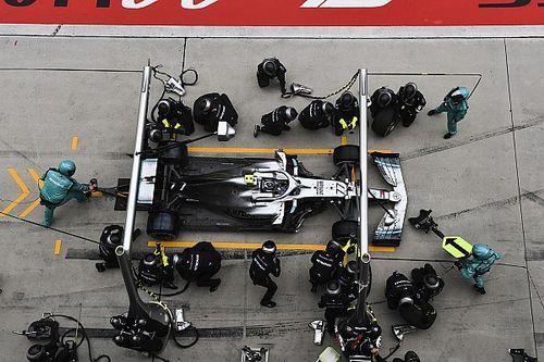 Mercedes tumpuk pit stop, Bottas sempat khawatir