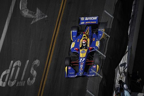 Alexander Rossi vince a Long Beach dominando davanti a Newgarden