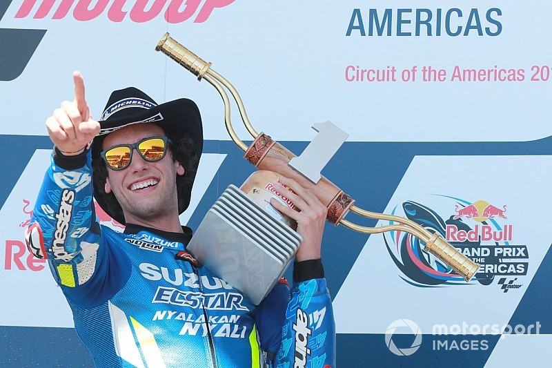 Rins now a real threat for MotoGP title, say rivals
