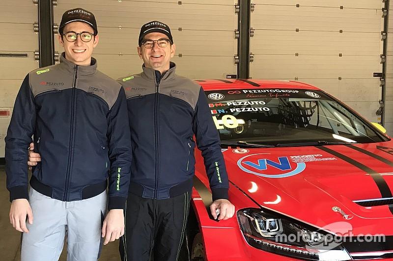 Massimiliano e Nicolò Pezzuto, una sfida in famiglia nel TCR DSG Endurance