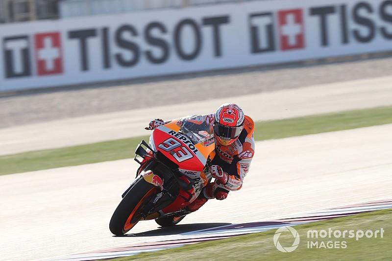 MotoGP, Termas de Rio Hondo, Libere 1: Marquez al top, indietro gli altri big