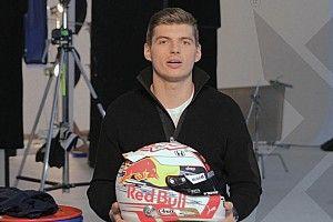 Verstappen presenta un casco completamente renovado para 2019