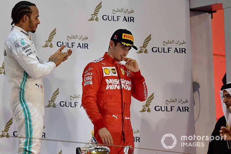 Leclerc e Albon acabam com secas de quase 70 anos na F1 no Bahrein