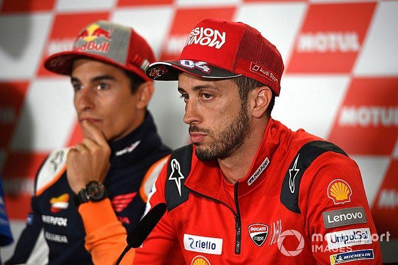 """Dovizioso: """"Ganar a Márquez aquí es difícil, pero no hay nada imposible"""""""