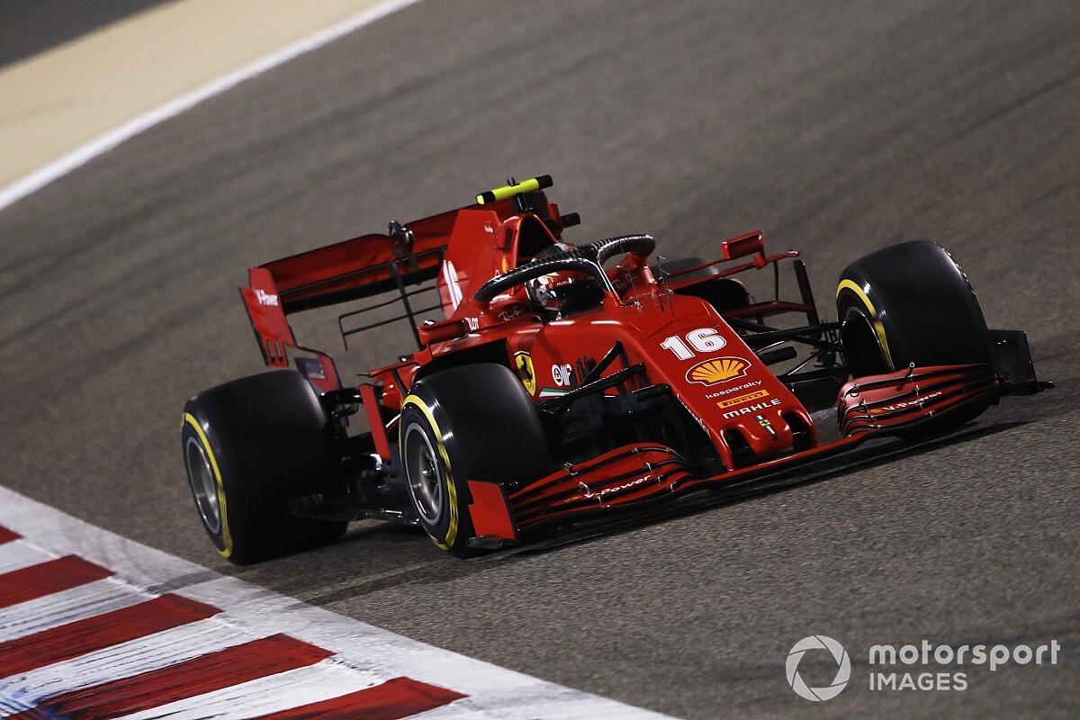"""Leclerc ve Vettel, yarışta """"puan almayı"""" hedefliyor"""