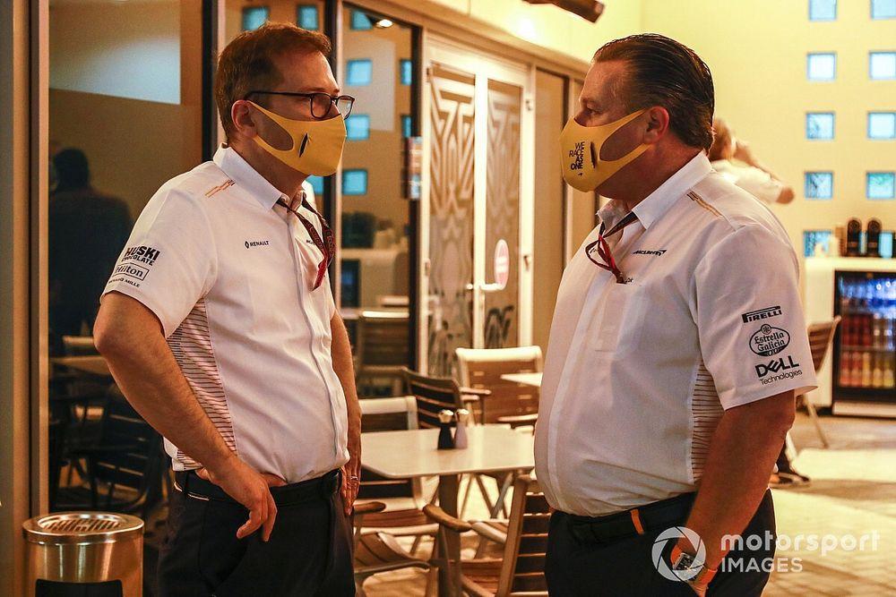 Seidl is best team principal in F1, says Brown