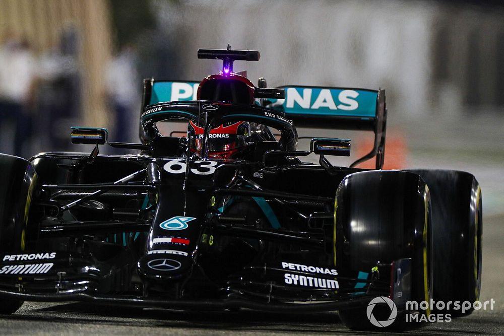 Russell spiega cosa ha imparato dal weekend con Mercedes