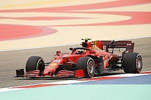 Vídeo: el estreno oficial de Sainz con el Ferrari en Bahrein