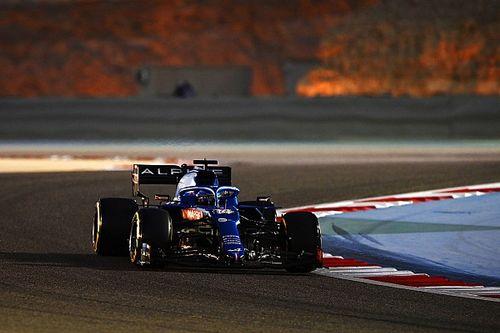 Alonso beffato in Bahrain da un involucro per panini