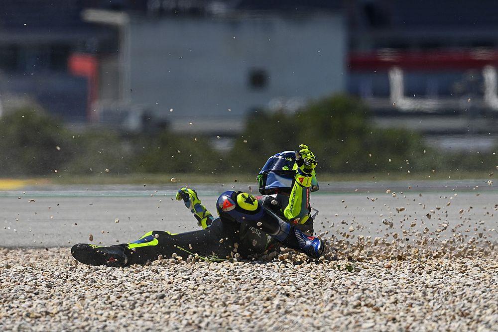 Valentino Rossi, l'addio è in caduta libera