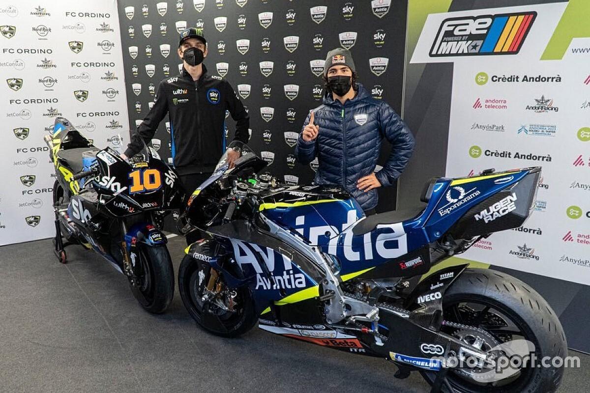 Avintia, 2021 MotoGP görünümünü tanıtan ilk takım oldu