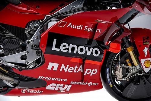Ducati recupera el rojo total y estrena asociación con Lenovo