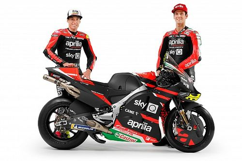 Aprilia reveals new MotoGP bike, confirms rider line-up