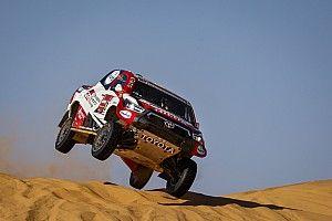Las fotos de la quinta etapa del Dakar, el caos se adueña de la carrera