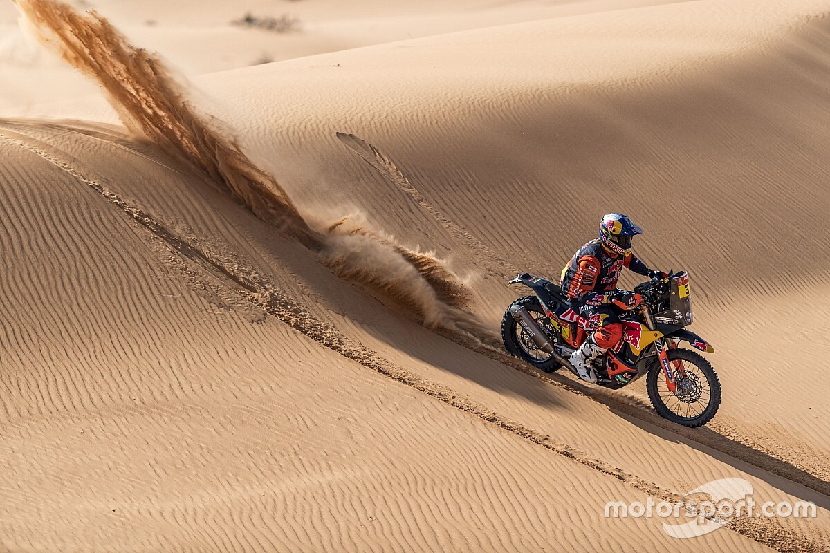 Price: Halfway Dakar lead 'doesn't mean anything'