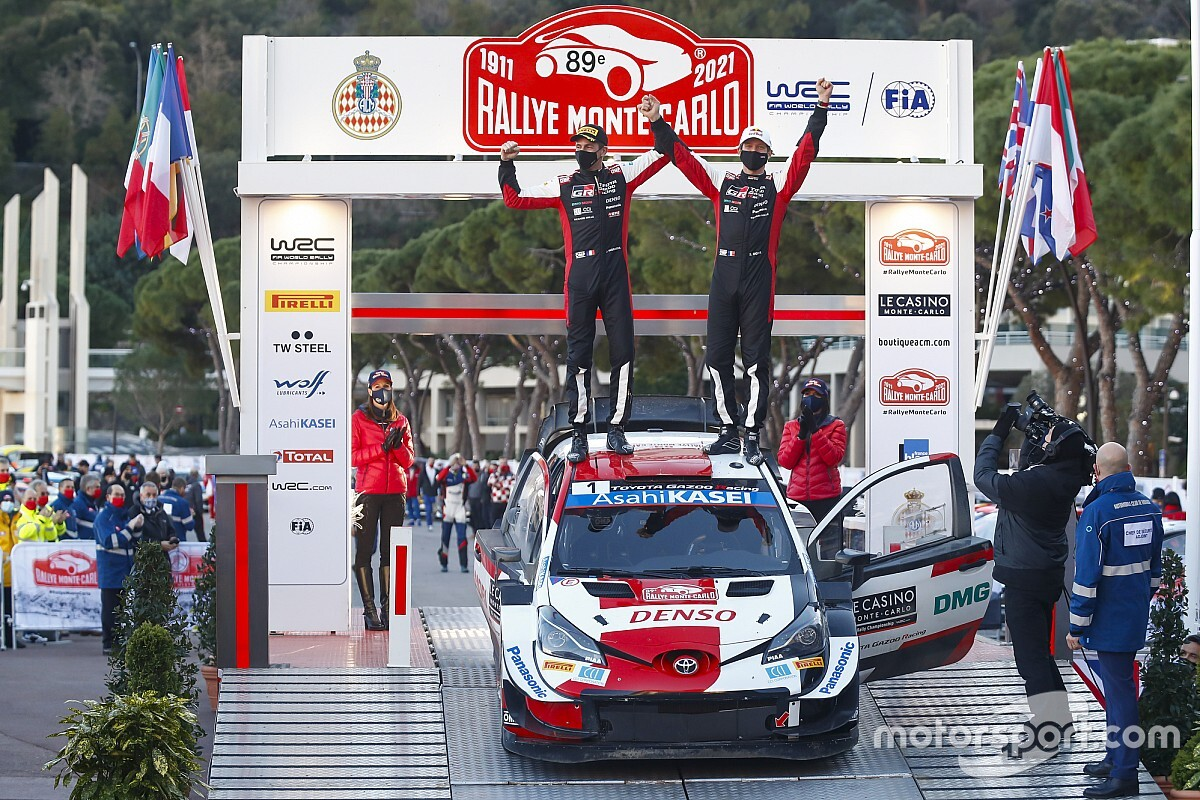 Hepta no WRC, Ogier se diz orgulhoso por bater recorde em Mônaco como seu ídolo Senna