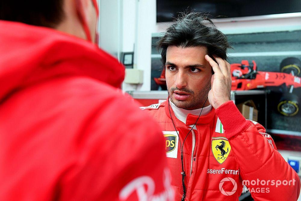 "Sainz's Ferrari euphoria ""contagious"" for team, says Leclerc"