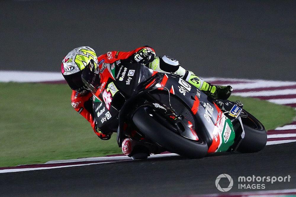 Katar MotoGP testlerinin ilk gününde Aleix Espargaro lider