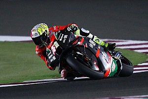 MotoGPカタールテスト初日:アプリリアのエスパルガロ兄がトップ。ホンダ加入の弟は17番手