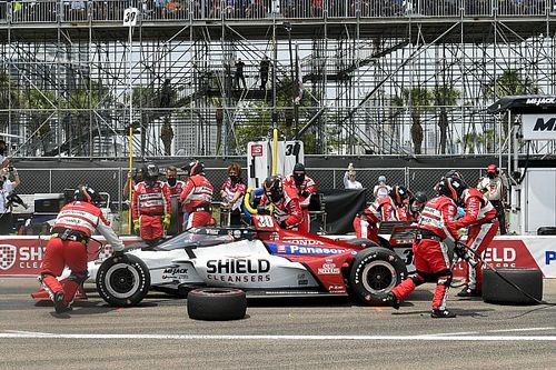 佐藤琢磨、追い上げて6位「チームは素晴らしい仕事をしてくれた」|インディカー第2戦セントピーターズバーグ