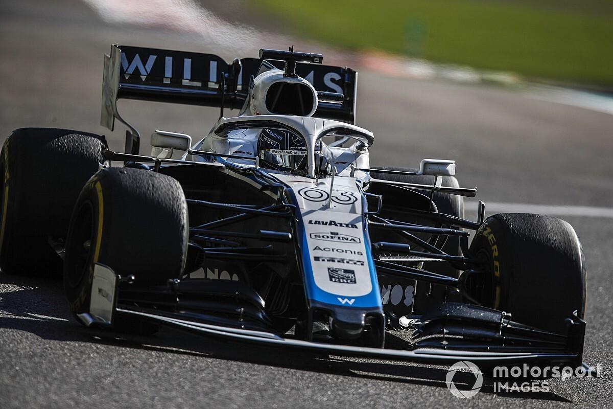 Russell hoopt dat Williams in '21 boven Haas en Alfa kan eindigen