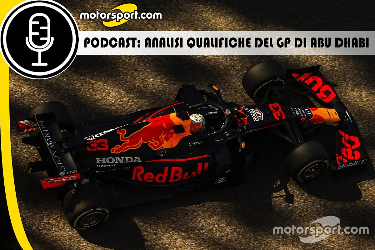 Podcast F1: analisi Qualifiche del GP di Abu Dhabi