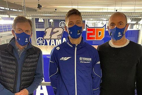 MotoGP: Quartararo OK dopo aver contratto il COVID a dicembre