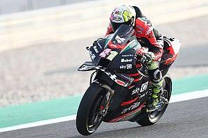 Espargaró lidera el FP1 de Doha y Morbidelli funde dos motores
