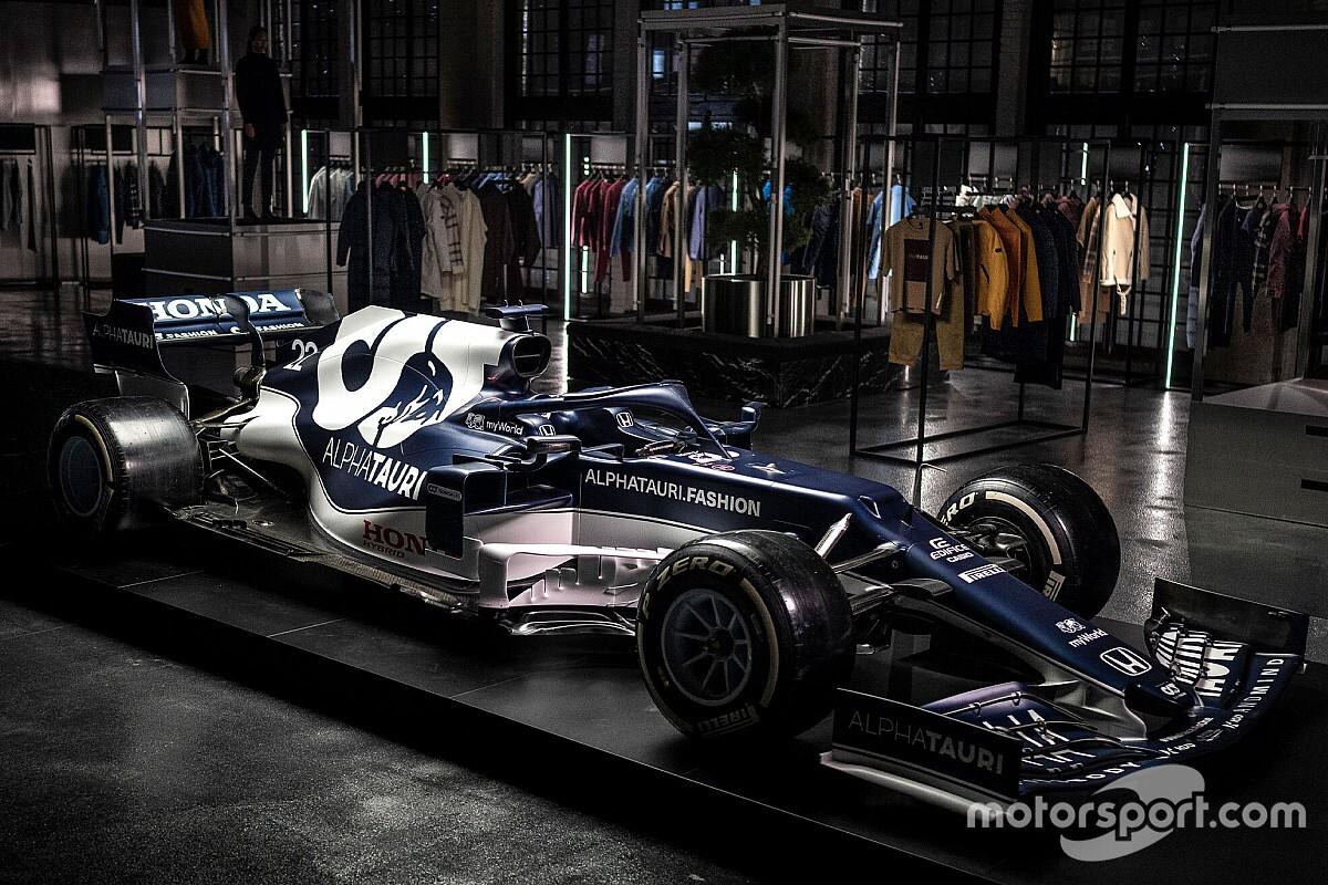 ألفا تاوري تكشف عن سيارتها الجديدة لموسم 2021 في الفورمولا واحد