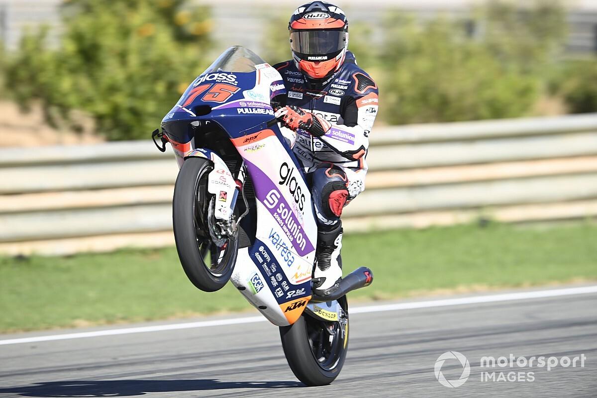 Moto3, Portimao, Libere 2: Arenas da record, Arbolino ottavo