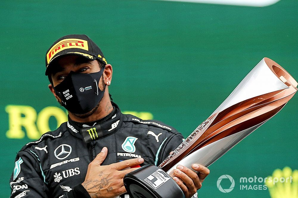 Turkish GP: Hamilton wins to secure seventh F1 title