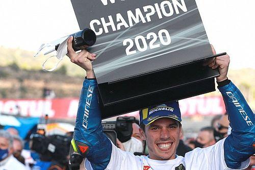 Los números atípicos de Mir para ser campeón de MotoGP