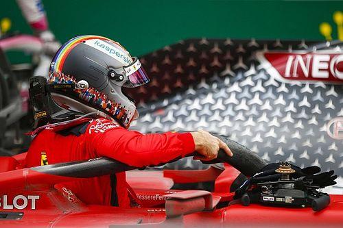 """Vettel: """"Ferrari ile birbirimizden soğuduk"""""""