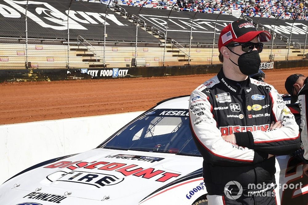 """Keselowski """"feels strong and optimistic"""" a win will come soon"""
