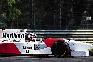El McLaren que puso fin a la carrera de Mansell